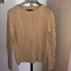 Sweaters - Tan sweater size small